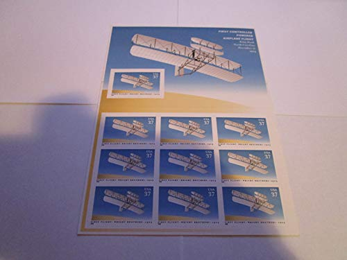 Wright Brothers Kitty Hawk Stamp Sheet Scott 3783