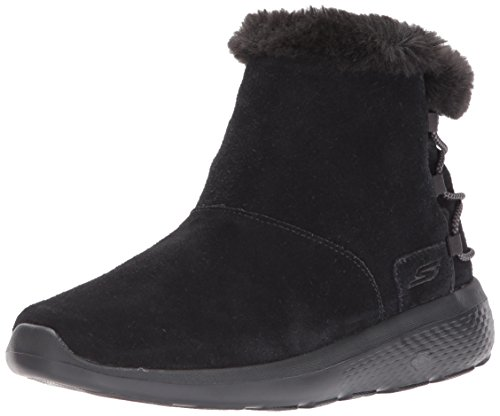 Skechers Women's On-The-go City 2 - Hibernate Winter Boot, Black
