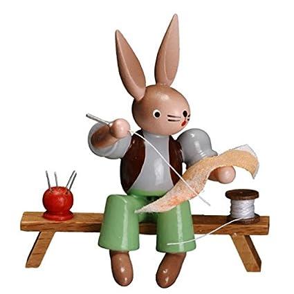 Amazon.com: Zeidler conejo Tailor figura hecho a mano en ...