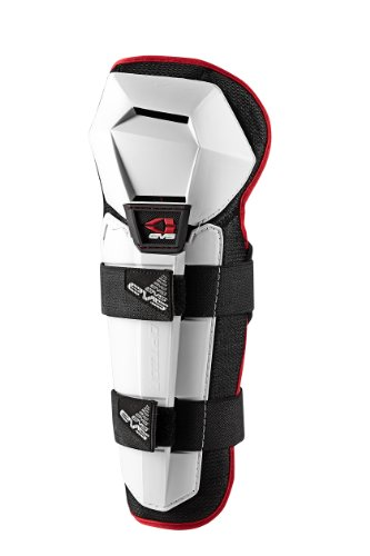 EVS Sports Option Knee Pad (White, Youth) by EVS Sports (Image #1)