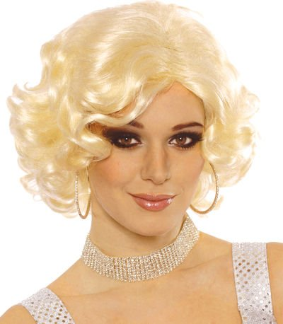 Hollywood Starlet Wig Costume Accessory ()