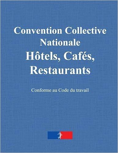 Convention Collective Nationale Des Hotels Cafes