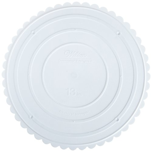 Wilton 302-13 Decorator Preferred Round Separator Plate for Cakes, 13-Inch by Wilton