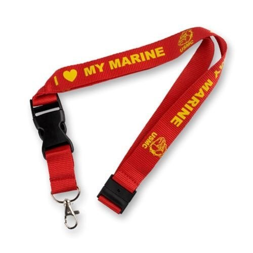 Marine I Love My Marine Lanyard