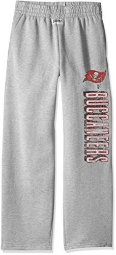 Zubaz NFL Tampa Bay Buccaneers Male Sweatpant, Large, Gray ()