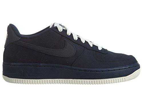 Nike Air Force 1 (Gs), Zapatillas de Baloncesto para Niños Rojo / Azul (Gym Red / Sail-Deep Royal Blue)
