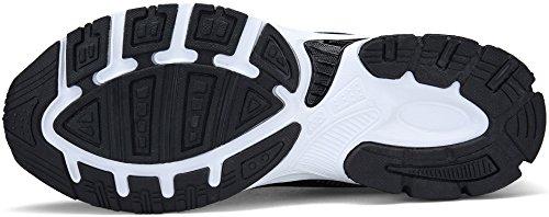 Sneakers de 43 Running Femme Basket DENGBOSN 36 Fitness Sport Chaussures Noir Onxx4R