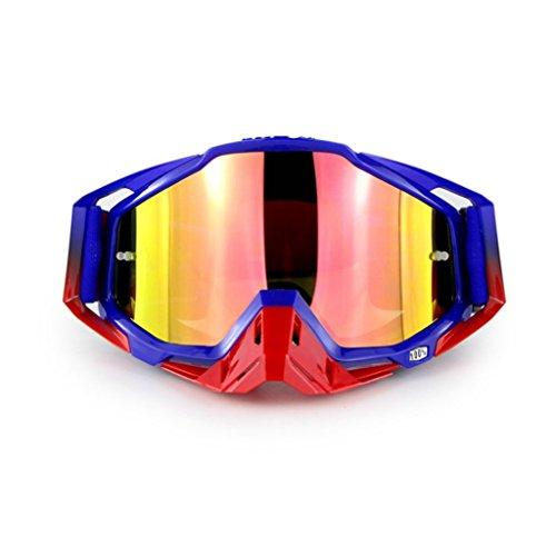 Gafas PC a Prueba la Coloridas montañismo de Campo de a E Impermeable explosiones Polvo Prueba de a Material través e 4rn4qwUB