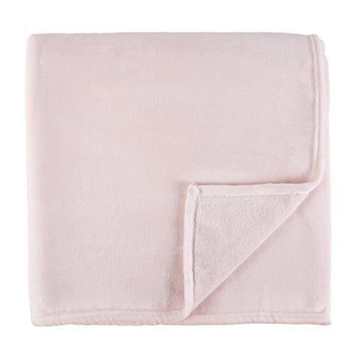 (Sleeping Partners Luxe Solid Plush Blanket, Queen,)