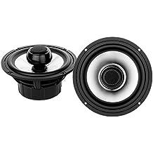"""Aquatic AV AQ-SPK6.5-4HS Silver 6.5"""" Harley Waterproof Speakers with Adjustable Tweeters"""
