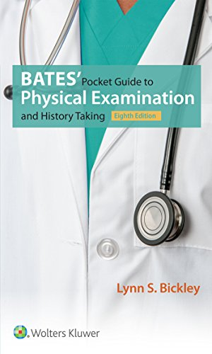 Pdf Medical Books Bates' Pocket Guide to Physical Examination and History Taking