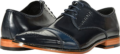 Stacy Adams Mens Talbot Navy / Cobalt 8 D Us