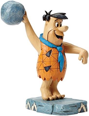 Jim Shore Hanna Barbera Twinkle Toes Bowling Fred Flintstone Figurine 4051593