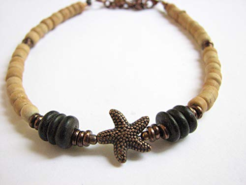 and Copper Starfish Anklet ()