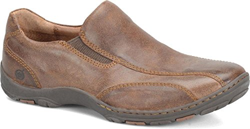 Born Men's Laughton, Bark (Brown) Suede, 10 M (D)
