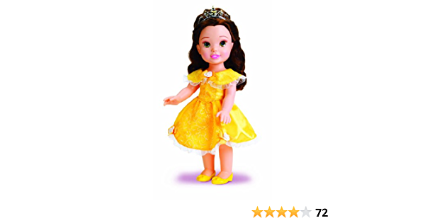 "My First Toddler Doll 14.5/"" Disney Princess Belle Doll Age3 NEW"