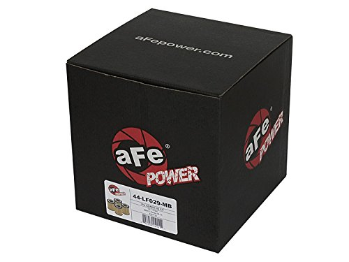 aFe Power 44-LF029-MB Pro Guard Pro Guard HD Oil Filter (BMW), 4 Pack (N55 Oil Filter)