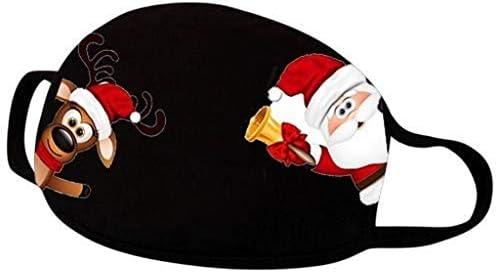 Herren Damen M/änner Rentier Christmas Lustig Motive 3D Halstuch Weihnachtsmann Schneemann Bandana Face Shield Sturmhaube Kopftuch SOMESUN Multifunktionstuch Mundschutz Weihnachten