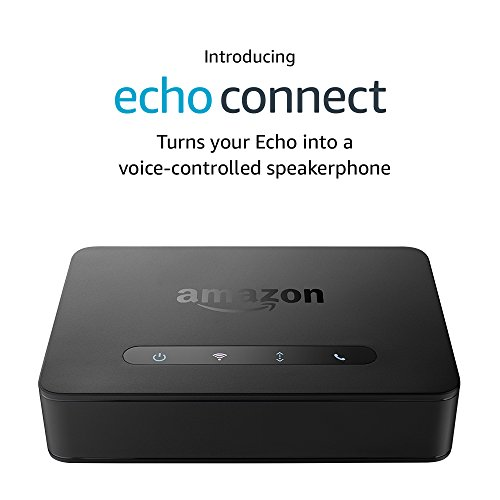 Echo Connect – requires Echo device, home phone service, and verified mobile number