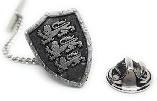 Menz Jewelry Accs Pewter Scotish Shield Lions Lapel PIN/TIE TAC Manufacturer Direct Pricing