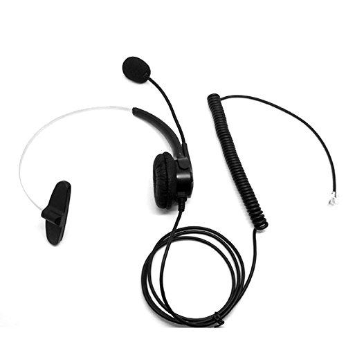 CQtransceiver Call Center Operator Telephone Headset for NEC DSX DTL DTP DTR DTU SERIES PHONES