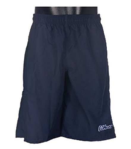 (Combat 1 Pair Navy Adult Medium Off The Field Shorts Micro Fiber Athletic New!)