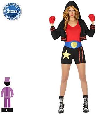 Atosa- Disfraz boxeadora, M-L (17476): Amazon.es: Juguetes y juegos