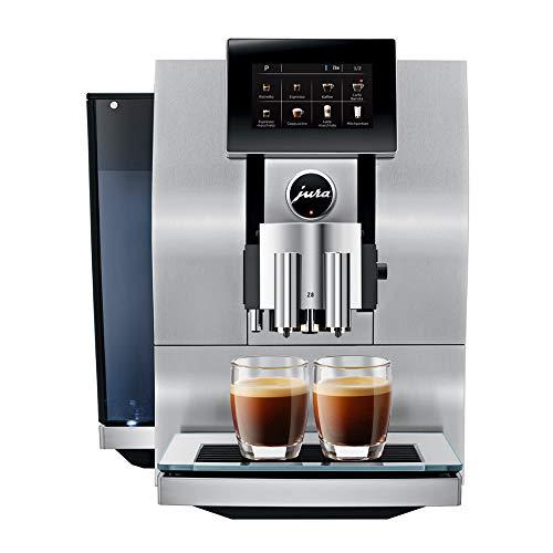 (Jura Z8 Aluminum Automatic Espresso & Cappuccino Machine with Touch screen)