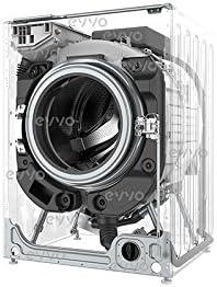 EVVO 4.10 - Modelo 4.10 Lavadora-secadora de carga frontal de 10 ...