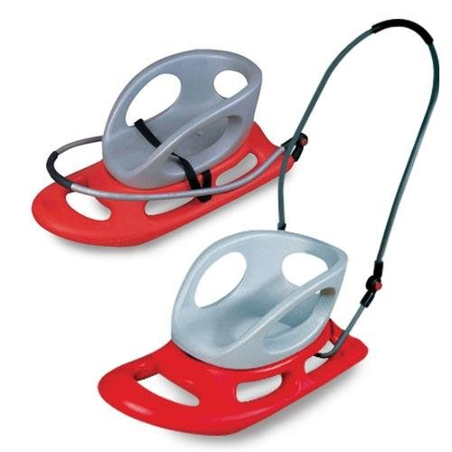 Paricon Collapsible Toddler Sled Red