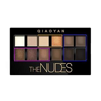12 Colors Eye Shadow Pearl Lasting Daily Cosmetics Eyeshadow Pallete Make Up Dark Lines Beauty & Health