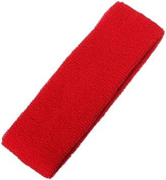 SYG Sport Serre-t/ête Bandeau Ruban Gymnastique Cheveux /à Yoga Tennis Badminton Danse TM