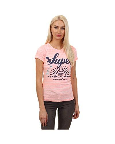 Superdry - Camiseta - para mujer Rose