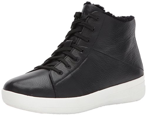 F Fitflop Noir Sneakerboots Black sporty BUqqwOxCT