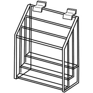 Acrylic Slatwall Literature Holder, 3 ()