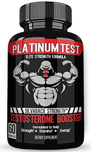 Stamiron Testosterone Booster for Men with Estrogen Blocker – 1500mg Plus Potent Formula for Lean Muscle, Natural Energy, Endurance, and Strength Male Enhancement Pills – 60 Premium Caplets