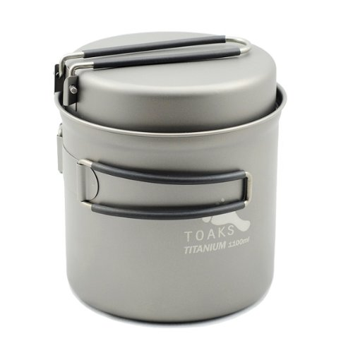 Titanium Backpacking Cookware - 4