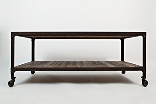 Coffee Table Collection Forge (Jofran: 1540-1, Franklin Forge, Rectangle Cocktail Table, 48