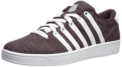 cheap fashionable discount fast delivery K-Swiss Men's Court Pro Ii T CMF Sneaker Raisin/White cheap sale fake browse for sale under $60 sale online W4Hc5