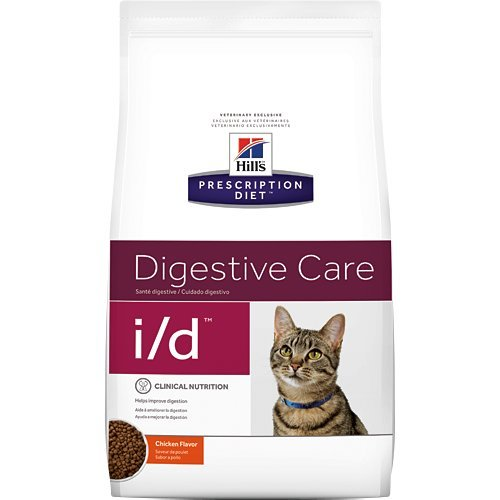 Hill's Prescription Diet i/d Digestive Care Chicken Flavor Dry Cat Food 4 lb