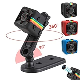 Fercisi Car HD Mini Camera 360 Degree Video Recording Support TF 1pcs Hidden Cameras