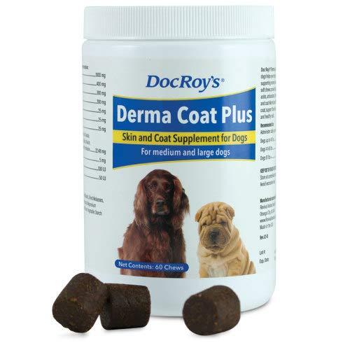 Doc Roy's Derma Coat Plus Soft Chews Large 60ct