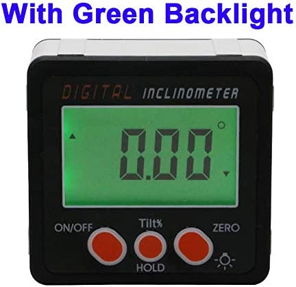LCD Digital Level Box Angle Finder Inclinometer Protractor Gauge Magnet 4* 90°