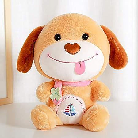 niedliche angehende Kissen lustige Puppen Hund Jahr Maskottchen Puppen Kinder Puppe Geschenke rosa Sitzen 25cm hoch hffbyvty Plüsch Spielzeug