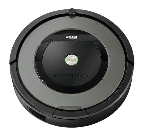 iRobot Roomba 866 - aspiradoras robotizadas (Negro, Gris)