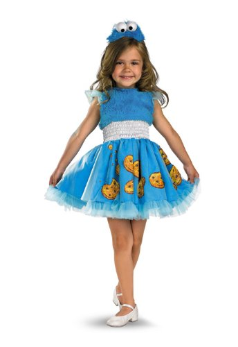 Frilly Cookie Monster Costume - Small (2T) ()