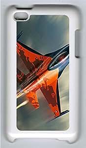 iPod 4Case F16 Fighter Plane PC Custom iPod 4Case Cover White