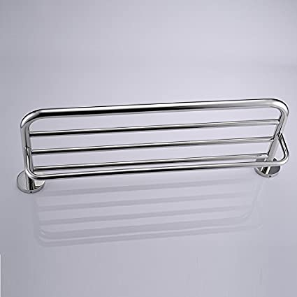 UZI-Toalla de acero inoxidable grueso doblado toalla baño estante baño hardware accesorios 600 *