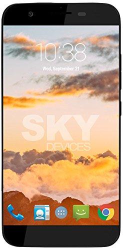 Platinum 5.0 Plus, Android Unlocked Smartphone, 13MP/8MP Cameras, 16GB Storage, 2GB RAM - Dark Grey