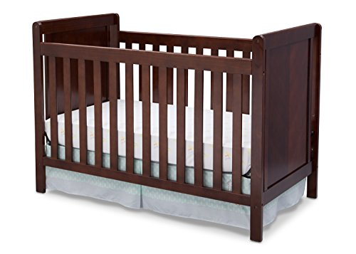 Delta Children Cypress 4-in-1 Convertible Crib, Chocolate Review